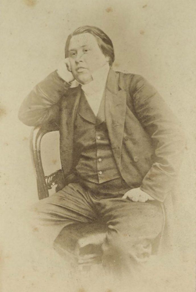 Fotografía de Charles Spurgeon hacia 1870