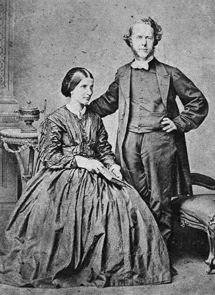 Hudson Taylor junto a sus esposa Maria Jane