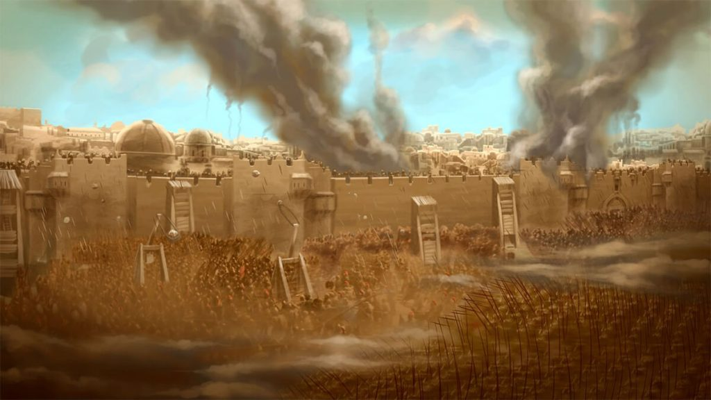 Asedio de Jerusalén.