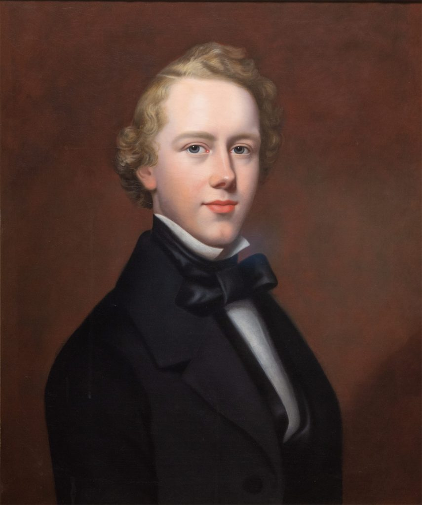 Retrato del joven Hudson Taylor