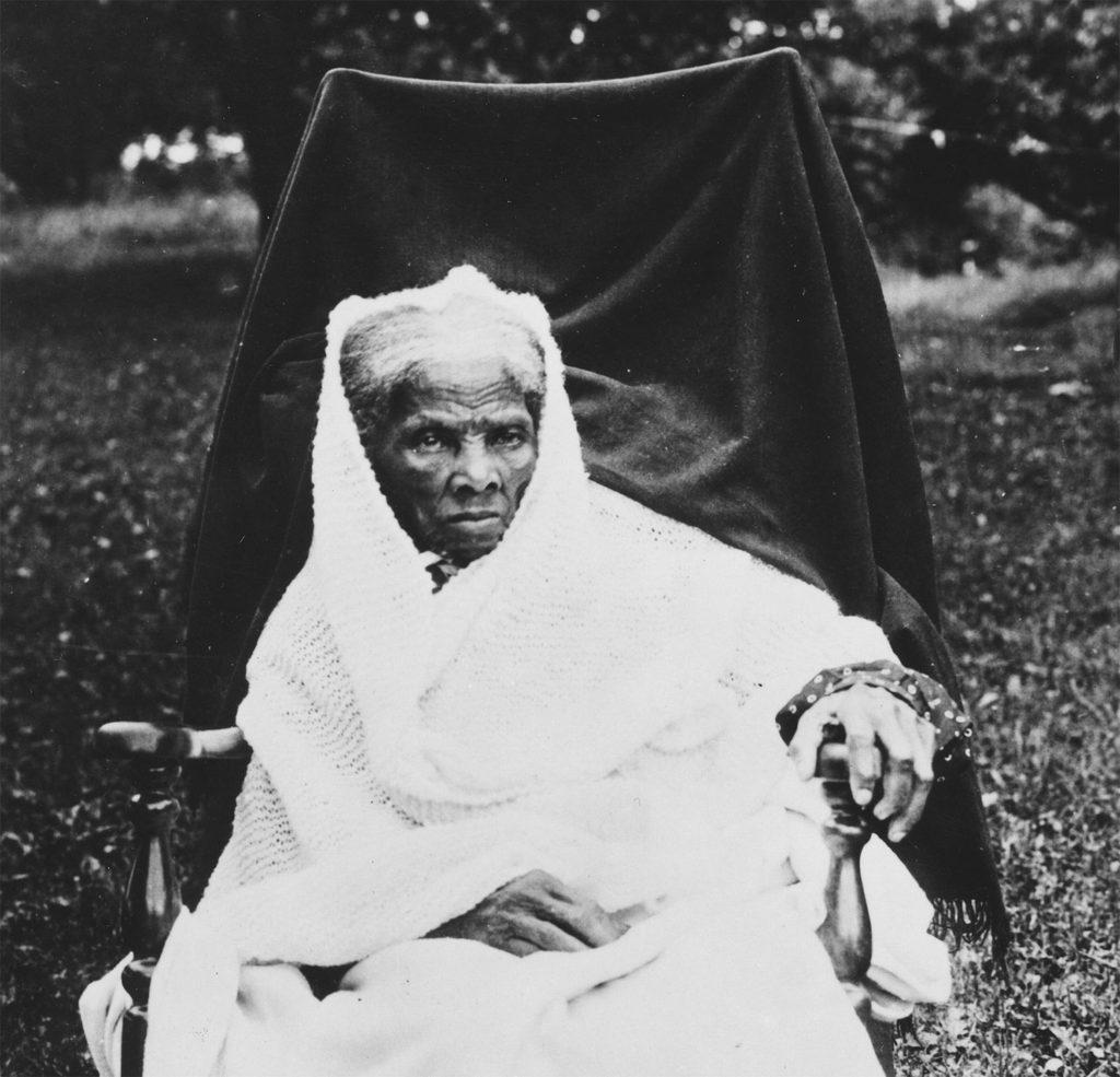 Harriet Tubman en sus últimos años de vida.
