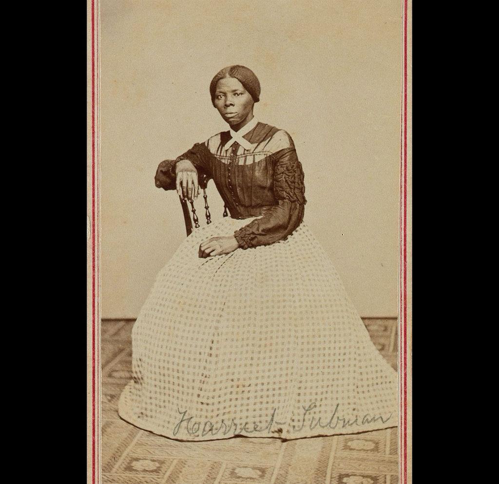 Harriet Tubman siendo joven